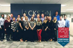 Jackson Physician Search earns recognition as great place to work.