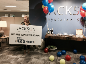 Modern Healthcare Again Selects Jackson Physician Search as one of the Best Places to Work in Healthcare