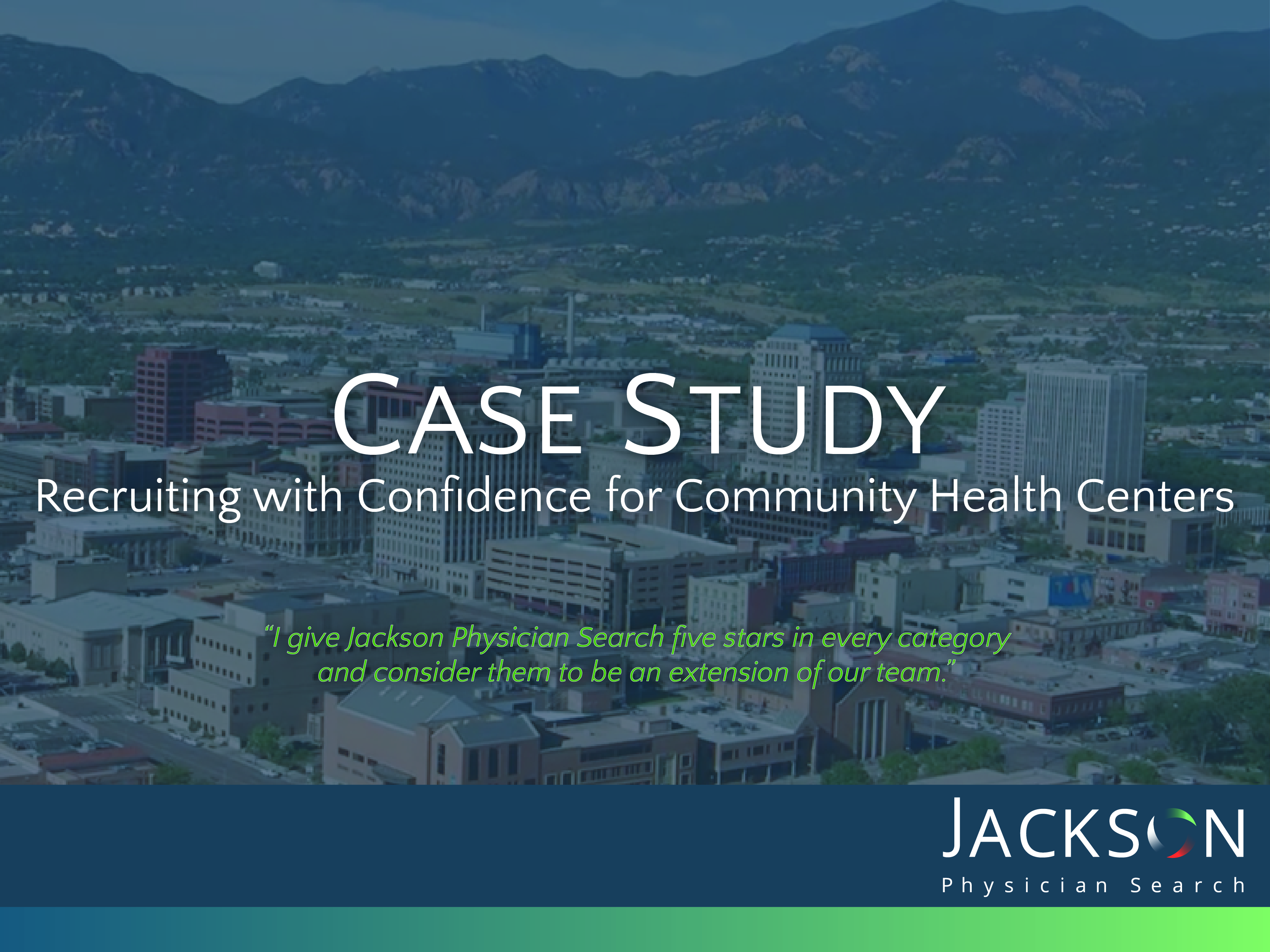 [Case Study] Recruiting with Confidence for Community Health Centers