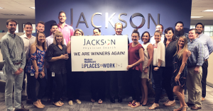 Jackson Physician Search Named a Modern Healthcare Best Places to Work in 2018