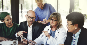 reviewing the physician recruitment checklist