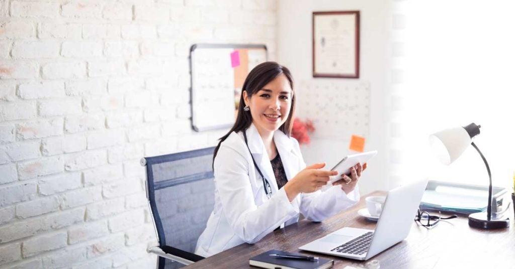 Self-employed physician