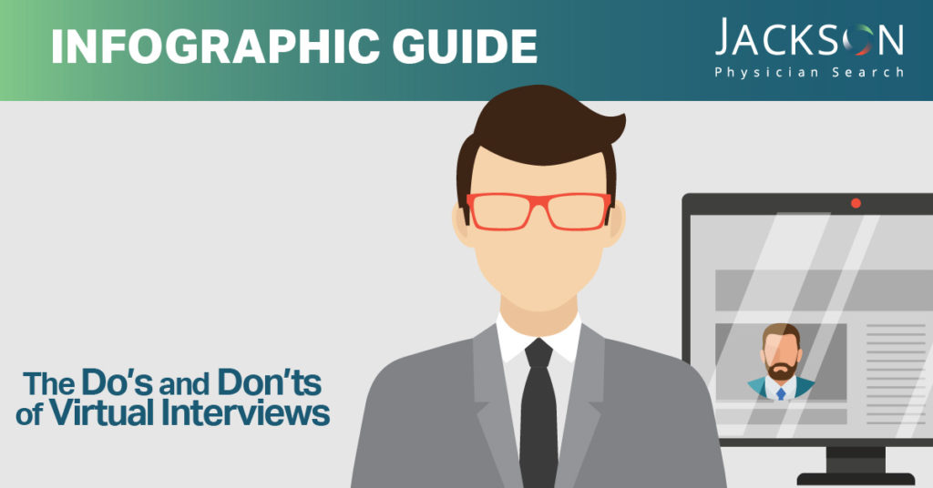 [Infographic Guide] The Do's and Don'ts of Virtual Interviews