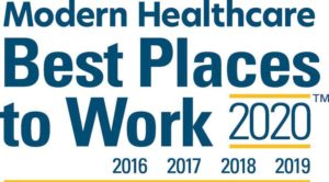 Jackson Physician Search Named to Modern Healthcare Best Place to Work 2020