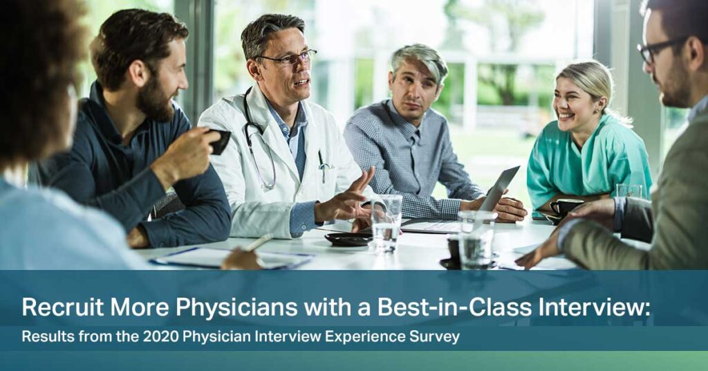 [White Paper] 2020 Physician Interview Experience Survey