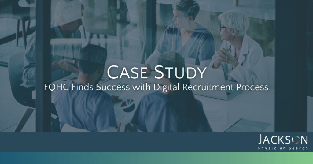 [Case Study] Continuous Growth Drives Provider Recruitment Partnership with FQHC