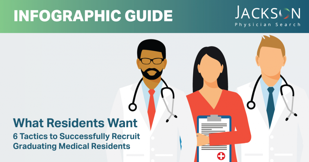 [Infographic Guide] What Residents Want: 6 Tactics to Successfully Recruit Graduating Medical Residents