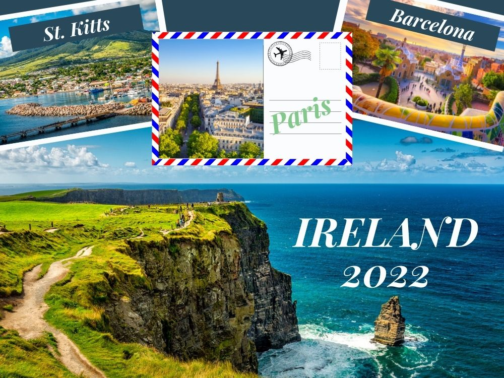 Let's Go Places Together - We're Headed to Ireland Next!